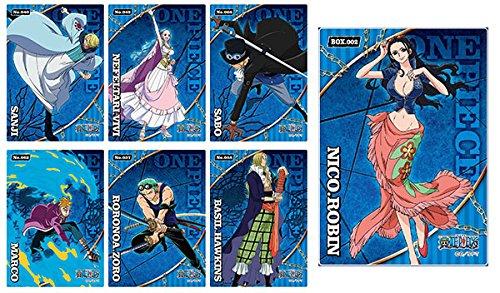 ワンピース クリアカードコレクションガム BLUE 初回限定版 16個入りBOX(食玩)
