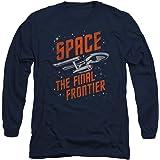 Popfunk Star Trek Space The Final Frontier Longsleeve T Shirt & Stickers