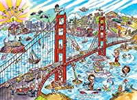 Cobble Hill Doodle Town: San Francisco Jigsaw Puzzle, 1000-Piece by Cobble Hill