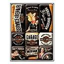 ハーレーダビッドソン Harley-Davidson Garage Babes set / マグネット セット