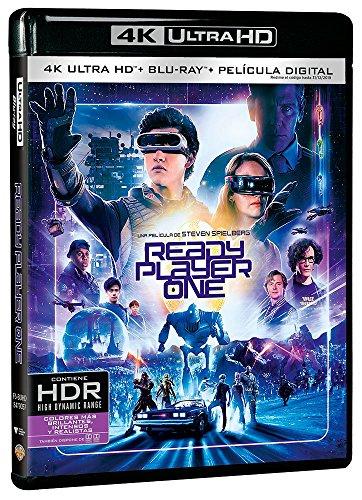 レディ・プレイヤー1 [4K UHD + Blu-ray リージョンフリー 日本語有り](輸入版) -Ready Player One-
