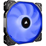 Corsair AF140 LED, 140mm Low Noise Cooling Fan - Blue LED (Dual Pack) CO-9050090-WW