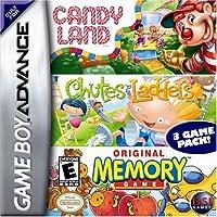 Candyland / Chutes & Ladders / Memory (輸入版)