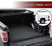 vxmotor 2015–2017シボレーコロラド/ GMC CanyonクルーCab 5ft 60cmショートベッドブラックポリエステルトラックベッドカーゴボックスフロアマットカーペット