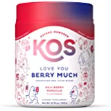 KOS Reds Superfood Powder - Beet Root, Goji Berries, Acai - Energy Booster, Circulation Support - Delicious Goji Berry Popsic