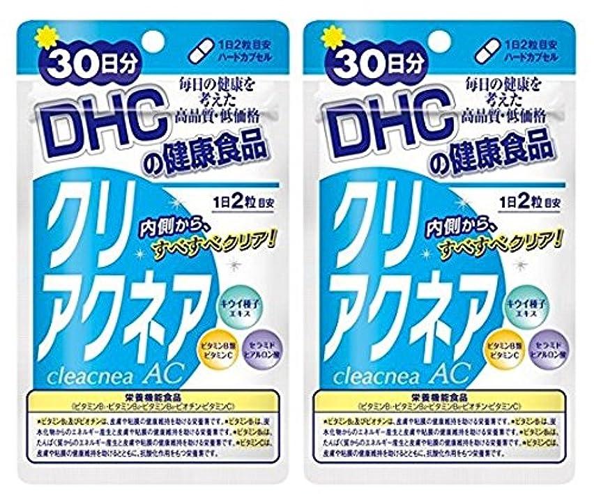 座標寛大な神経障害DHC クリアクネア 30日分 × 2袋