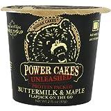 Kodiak Cakes Flapjack Cup, Buttermilk & Maple - 2.25oz(64g) プロテイン入りフラップジャックミックス 12個セット [並行輸入品]