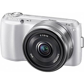 ソニー SONY ミラーレス一眼 α NEX-C3 ダブルレンズキット E 16mm F2.8+E 18-55mm F3.5-5.6 OSS付属 ホワイト NEX-C3D/W