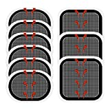 ULRO(ウルロ) スレンダートーン EMS 交換パッド 3枚×3枚 合計9枚(正面用3枚+脇腹用6枚) 互換品