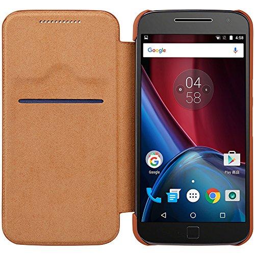 『NILLKIN Motorola Moto G4 Plus 2016 スマートフォンケース 褐色』の3枚目の画像