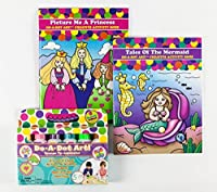 Do A Dot Art! Brilliant Washable Markers With Tales of the Mermaid and Pricture Me a Princess Creative Activity and