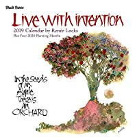 Live With Intention 2019 Calendar: Plus Four 2020 Planning Months