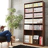 180cm高の本棚、どっちがいい?