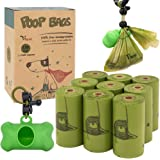 Vitervi Dog Poop Bags, Extra Thick Strong 100% Leak Proof, Scented, Eco-Friendly Doggie Waste Bags with Dispenser