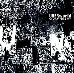 UVERworld「WE ARE GO」のCDジャケット