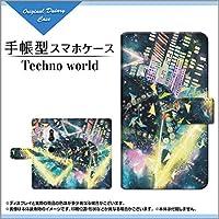 液晶保護フィルム付 XPERIA XZ3 SO-01L SOV39 801SO エクスペリア エックスゼットスリー docomo au SoftBank 手帳型 手帳タイプ ケース ブック型 ブックタイプ カバー Techno world F:chocalo
