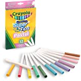 Crayola Bright Supertips Pastel Edition, Pack of 12