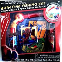 The Amazing Spiderman Bubble Bath Time Fishing Set by MZB [並行輸入品]