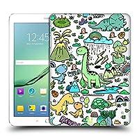 Head Case Designs スウィート・クリーチャー プレヒストリック・パターン ハードバックケース Samsung Galaxy Tab S2 9.7