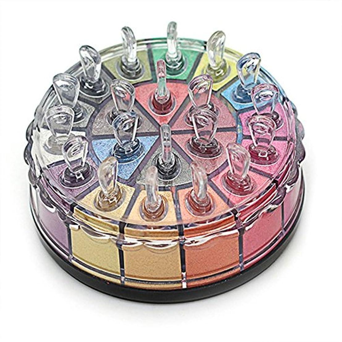 助手気球期限Lazayyii 20色 メイクパレット ミラージュ パウダーアイシャドウ パール マットアイシャドウ アイシャドー メイクパレット グリッター アイシャドウ (01#)