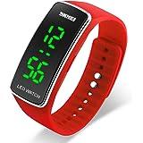 Watch Unisex Digital Watch Waterproof Sport Wristwatch for Boys Girls Men Women
