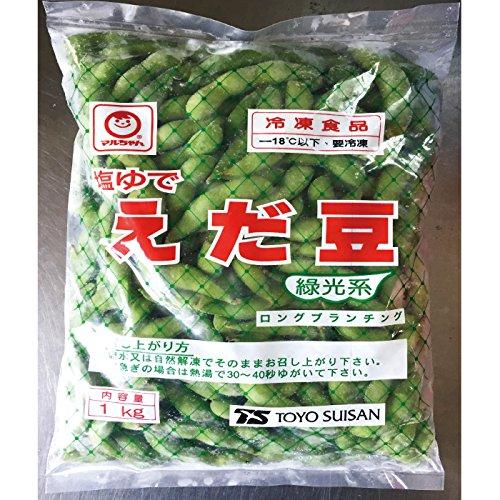 冷凍食品 東洋水産 塩ゆでえだまめ 1kg
