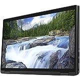 """Dell Latitude 7410 2-in-1 Multi-Touch Laptop (Carbon Fiber) - 14"""" 1920 x 1080 VA Touchscreen - 1.7 GHz Intel Core i5-10310U Q"""
