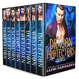Dragon Protectors Boxed Set: Dragon Shifter Vampire Fated Mates Romance by [Hariharan, Laxmi]
