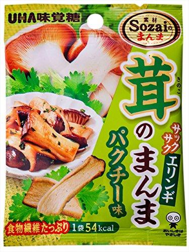 ユーハ Sozaiのまんま 茸のまんまエリンギパクチー 15g×6袋