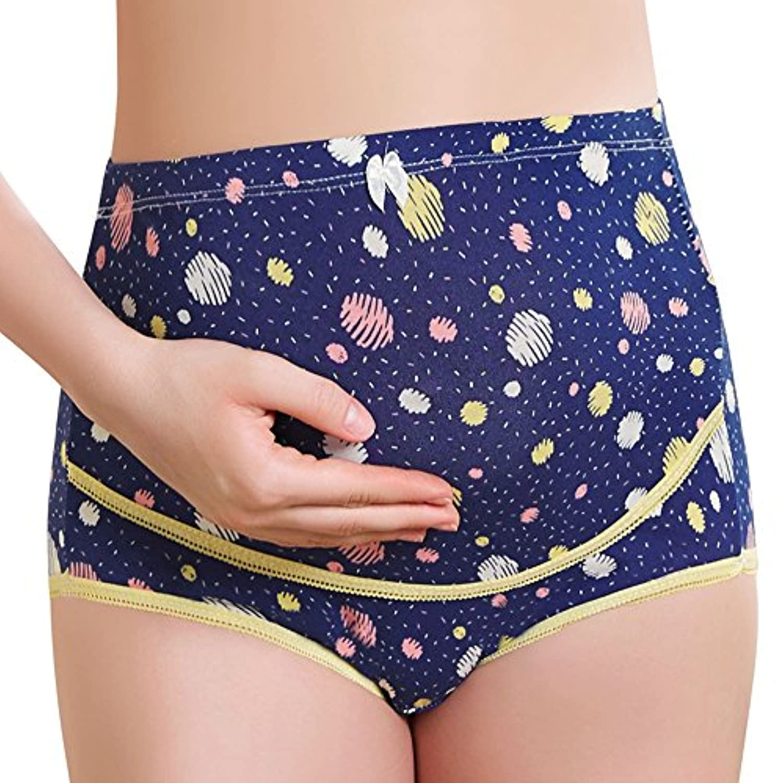 YING LAN マタニティショーツ 妊娠中の 女性 柔らか 滑らか 快適 モーダル 綿 下着 産前用 マタニティー ショーツ 39週(妊娠初期から臨月まで) 妊婦さん用 パンツ