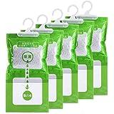 Jiaan Hygroscopic Anti-mold Deodorizing Moistureproof Desiccant Hanging Bag Use for Kitchen Bathroom Wardrobe, Dehumidificati