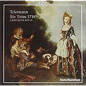 テレマン:6つのトリオ(1718)