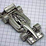 限定 レア キーホルダー F1車ルノー銀色 ポルトクレ フランス