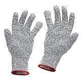 軍手 Pathonor 切れない手袋 Lサイズ 左右セット 耐切創性グローブ 耐切創手袋 防刃グローブ 作業用手袋 摩耗耐性 園芸、台所、作業場などで使える 防刃レベル5