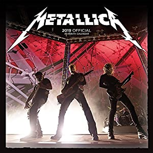 Metallica 2019 Calendar