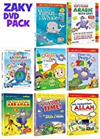 Zaky & Friends/ Islamic Dvd Collection -Wholesale Bundle/ 2 Dvds/ Usa