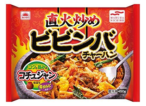 あけぼののビビンバチャーハンの冷凍食品