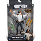 Fortnite Legendary Series Brawlers, 1 Figure Pack - 7 Inch Meowscles Action Figure, Plus Accessories
