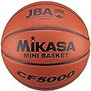 ミカサ ミニバスケットボール 検定球5号 小学生用 CF5000 人工皮革 CF5000