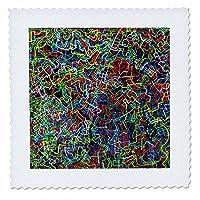 3drose Woux–lamieluki、アクリルペイント–想像力を刺激し、Be Inspired–キルト正方形 10x10 inch quilt square qs_280100_1