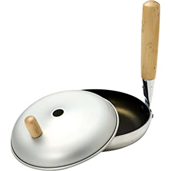 パール金属 親子鍋 16cm 鍋蓋付 ガス火専用 フッ素加工 クックマイン H-1790