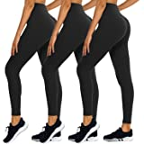 TNNZEET High Waisted Leggings for Women - Athletic Ankle Pants for Workout Running Yoga