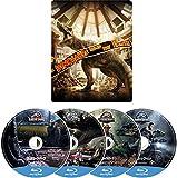 【Amazon.co.jp限定】 ジュラシック・パーク 4ムービー・コレクション スチールブック・ブルーレイ [Blu-ray]