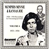 Menphis Minnie & Kansas Joe Vol. 4 (1933-1934)