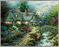 "Country Cottage by Nicky Boehme 25.16""x32.19"" 73076-60-22FUSA"