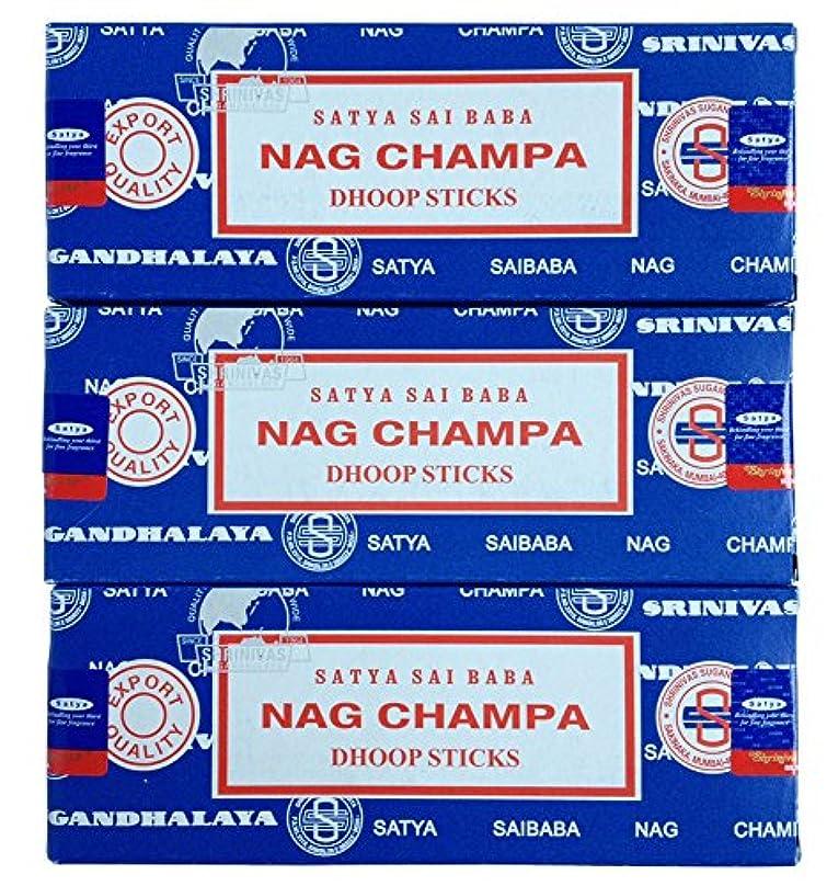 気味の悪い飾る埋めるSATYA サイババナグチャンパ ドゥープ香