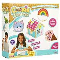 The Amazing CookieクラフターDecorating Playset – Cuts Cookieにもに形状 – 9 Pieceセット