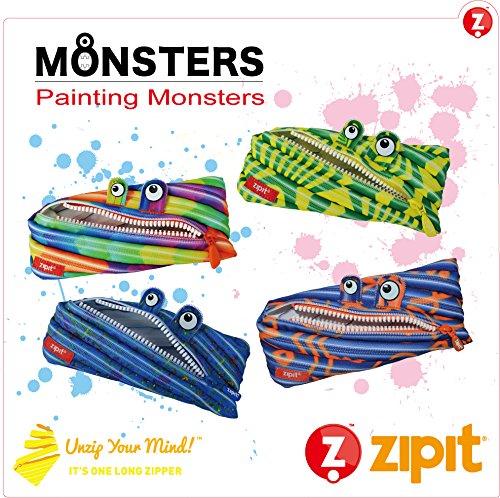 zipit (ジップイット) ペンケース ペインティングモンスター ペイントドロップ ZP-ZTM-ZP-PD