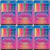 Sakura 10ピース38176Gelly Roll Assorted ColorsブリスターカードMoonlight 10Bold Point Gelインクペンセット( 6-packs ) PackageQuantity : 6、モデル:、オフィスアクセサリー& Supply Shop