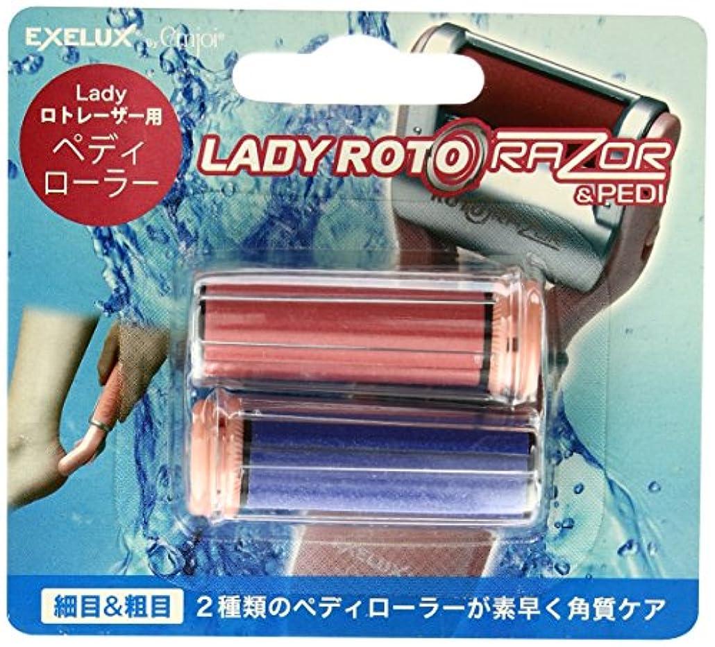 覚醒有名人意気消沈したmetex Lady ロトレーザー & Pedi用ペディローラー EJRR-LP2